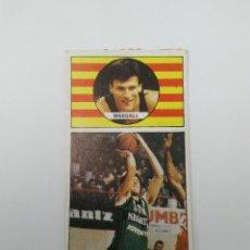 Collezionismo sportivo: ANTIGUO CROMO DE BALONCESTO, BASKET AÑOS 80 CONVERSE, MACGREGOR LIGA ACB - JOVENTUT: MARGALL (Nº 94). Lote 116998027