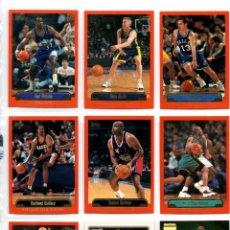 Coleccionismo deportivo: LOTE 9 CROMOS NBA. Lote 116998343