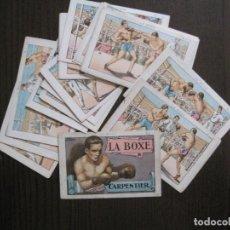 Coleccionismo deportivo: BOXEO - LA BOXE - CARPENTIER -COLECCCION COMPLETA 25 CROMOS -VER FOTOS-(V-14.098). Lote 117034767