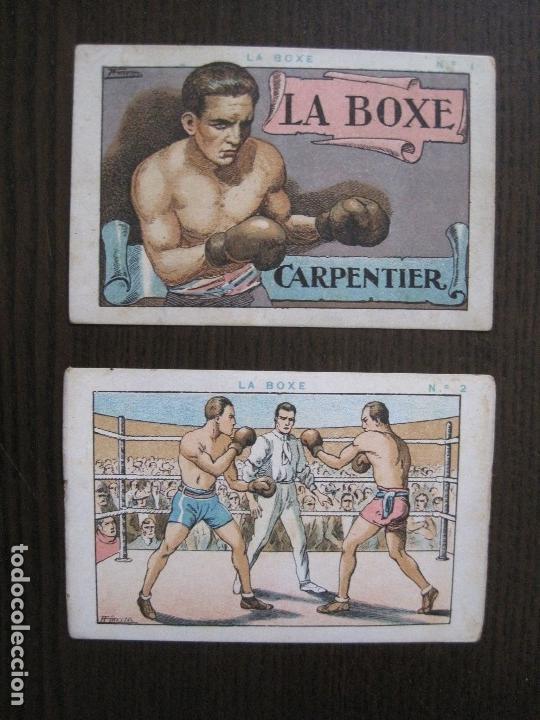 Coleccionismo deportivo: BOXEO - LA BOXE - CARPENTIER -COLECCCION COMPLETA 25 CROMOS -VER FOTOS-(V-14.098) - Foto 5 - 117034767
