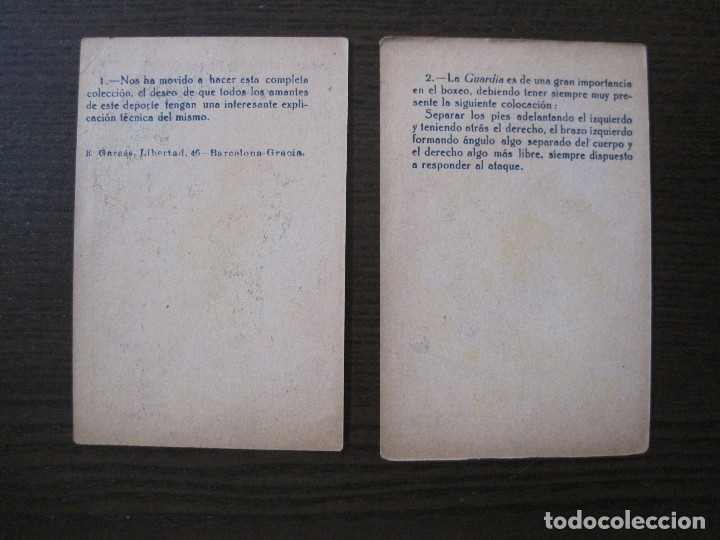 Coleccionismo deportivo: BOXEO - LA BOXE - CARPENTIER -COLECCCION COMPLETA 25 CROMOS -VER FOTOS-(V-14.098) - Foto 6 - 117034767