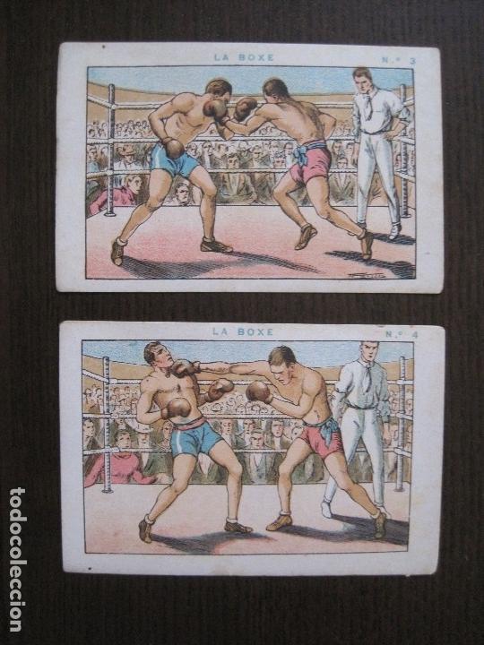 Coleccionismo deportivo: BOXEO - LA BOXE - CARPENTIER -COLECCCION COMPLETA 25 CROMOS -VER FOTOS-(V-14.098) - Foto 7 - 117034767