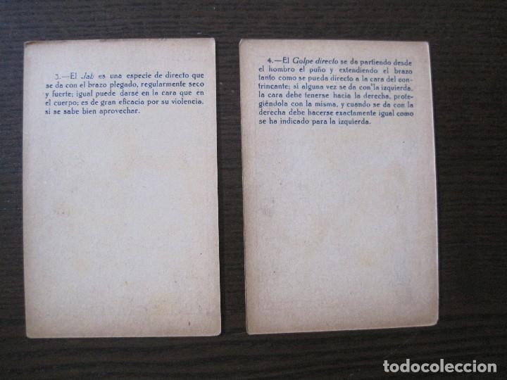 Coleccionismo deportivo: BOXEO - LA BOXE - CARPENTIER -COLECCCION COMPLETA 25 CROMOS -VER FOTOS-(V-14.098) - Foto 8 - 117034767