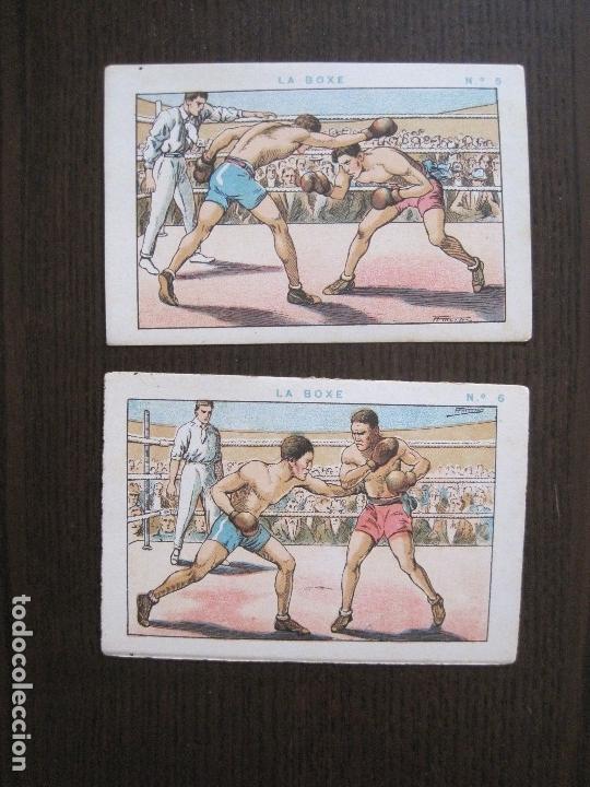 Coleccionismo deportivo: BOXEO - LA BOXE - CARPENTIER -COLECCCION COMPLETA 25 CROMOS -VER FOTOS-(V-14.098) - Foto 9 - 117034767