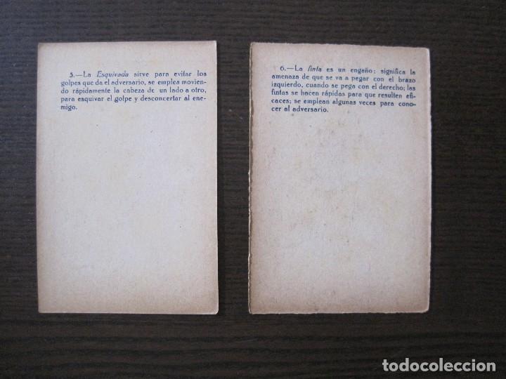 Coleccionismo deportivo: BOXEO - LA BOXE - CARPENTIER -COLECCCION COMPLETA 25 CROMOS -VER FOTOS-(V-14.098) - Foto 10 - 117034767