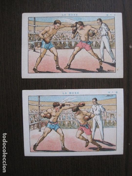 Coleccionismo deportivo: BOXEO - LA BOXE - CARPENTIER -COLECCCION COMPLETA 25 CROMOS -VER FOTOS-(V-14.098) - Foto 11 - 117034767