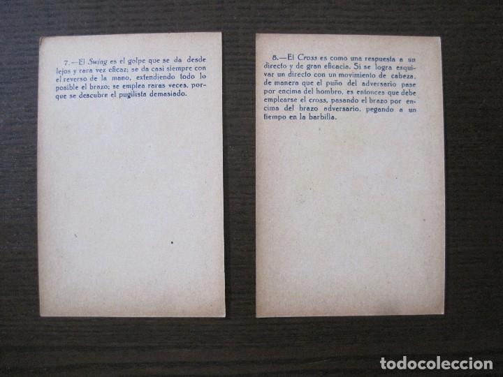 Coleccionismo deportivo: BOXEO - LA BOXE - CARPENTIER -COLECCCION COMPLETA 25 CROMOS -VER FOTOS-(V-14.098) - Foto 12 - 117034767