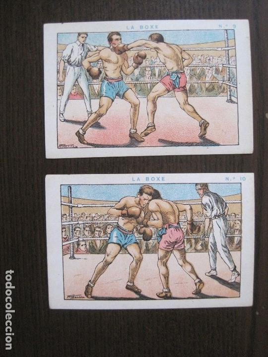 Coleccionismo deportivo: BOXEO - LA BOXE - CARPENTIER -COLECCCION COMPLETA 25 CROMOS -VER FOTOS-(V-14.098) - Foto 13 - 117034767
