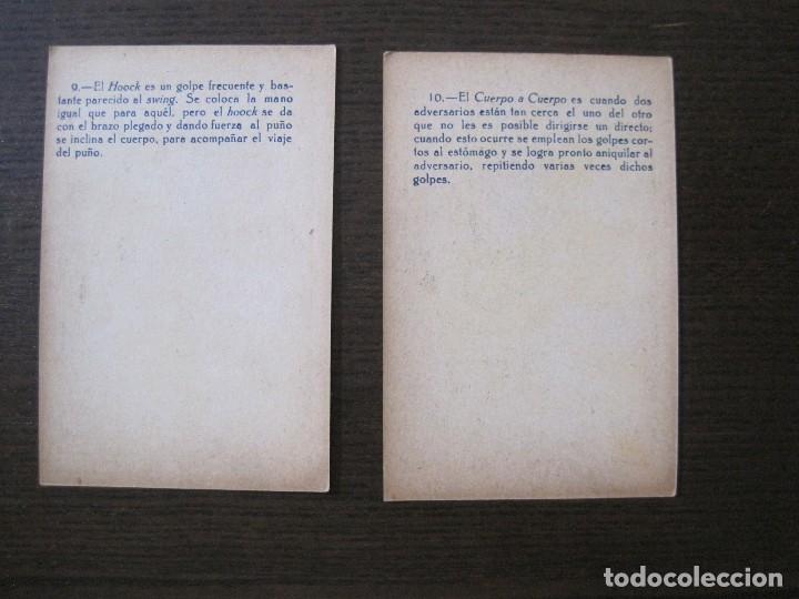 Coleccionismo deportivo: BOXEO - LA BOXE - CARPENTIER -COLECCCION COMPLETA 25 CROMOS -VER FOTOS-(V-14.098) - Foto 14 - 117034767