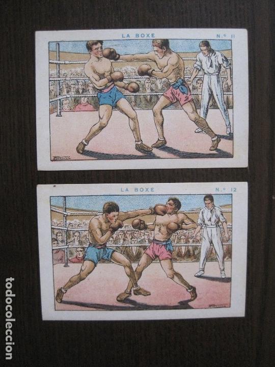 Coleccionismo deportivo: BOXEO - LA BOXE - CARPENTIER -COLECCCION COMPLETA 25 CROMOS -VER FOTOS-(V-14.098) - Foto 15 - 117034767