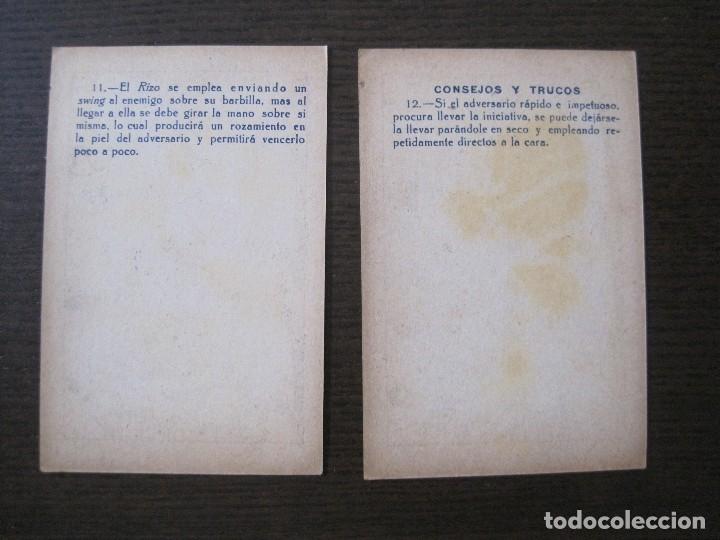 Coleccionismo deportivo: BOXEO - LA BOXE - CARPENTIER -COLECCCION COMPLETA 25 CROMOS -VER FOTOS-(V-14.098) - Foto 16 - 117034767