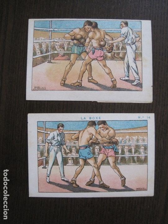 Coleccionismo deportivo: BOXEO - LA BOXE - CARPENTIER -COLECCCION COMPLETA 25 CROMOS -VER FOTOS-(V-14.098) - Foto 17 - 117034767