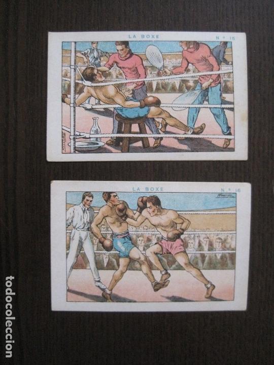 Coleccionismo deportivo: BOXEO - LA BOXE - CARPENTIER -COLECCCION COMPLETA 25 CROMOS -VER FOTOS-(V-14.098) - Foto 19 - 117034767
