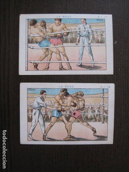 Coleccionismo deportivo: BOXEO - LA BOXE - CARPENTIER -COLECCCION COMPLETA 25 CROMOS -VER FOTOS-(V-14.098) - Foto 20 - 117034767