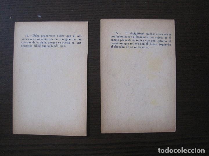 Coleccionismo deportivo: BOXEO - LA BOXE - CARPENTIER -COLECCCION COMPLETA 25 CROMOS -VER FOTOS-(V-14.098) - Foto 21 - 117034767