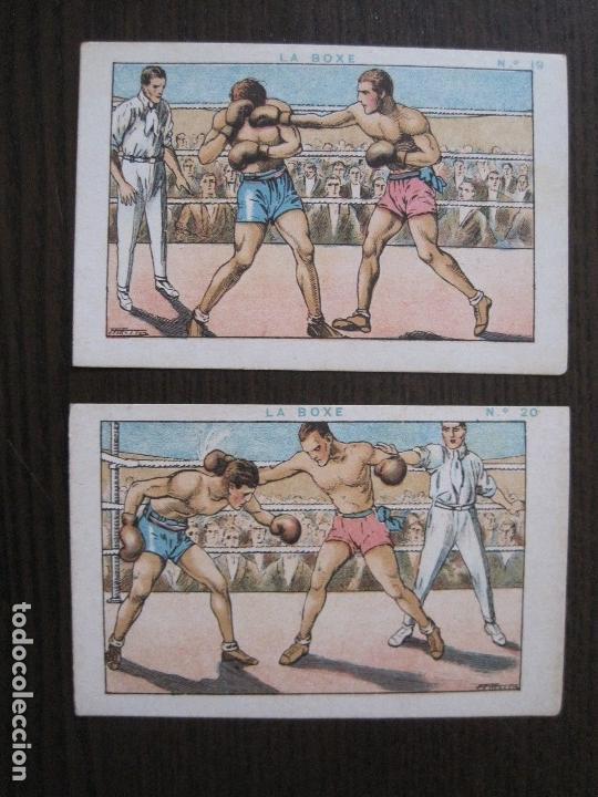 Coleccionismo deportivo: BOXEO - LA BOXE - CARPENTIER -COLECCCION COMPLETA 25 CROMOS -VER FOTOS-(V-14.098) - Foto 22 - 117034767