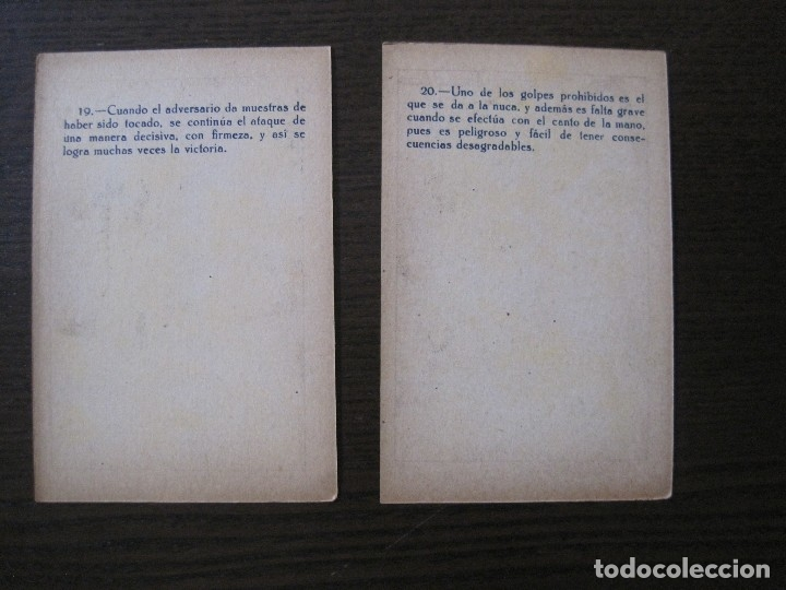 Coleccionismo deportivo: BOXEO - LA BOXE - CARPENTIER -COLECCCION COMPLETA 25 CROMOS -VER FOTOS-(V-14.098) - Foto 23 - 117034767
