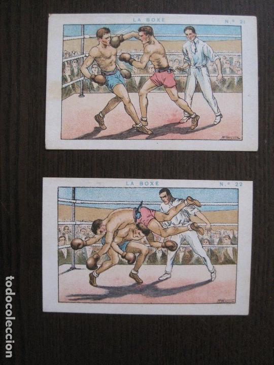 Coleccionismo deportivo: BOXEO - LA BOXE - CARPENTIER -COLECCCION COMPLETA 25 CROMOS -VER FOTOS-(V-14.098) - Foto 24 - 117034767