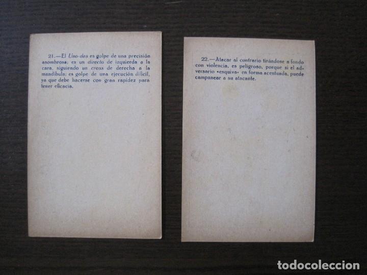 Coleccionismo deportivo: BOXEO - LA BOXE - CARPENTIER -COLECCCION COMPLETA 25 CROMOS -VER FOTOS-(V-14.098) - Foto 25 - 117034767