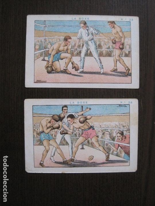 Coleccionismo deportivo: BOXEO - LA BOXE - CARPENTIER -COLECCCION COMPLETA 25 CROMOS -VER FOTOS-(V-14.098) - Foto 26 - 117034767
