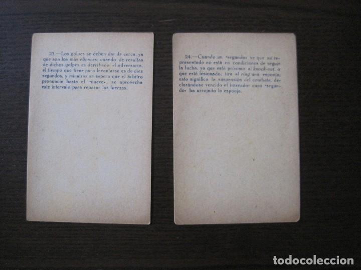 Coleccionismo deportivo: BOXEO - LA BOXE - CARPENTIER -COLECCCION COMPLETA 25 CROMOS -VER FOTOS-(V-14.098) - Foto 27 - 117034767