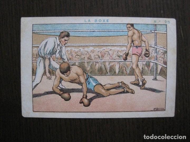 Coleccionismo deportivo: BOXEO - LA BOXE - CARPENTIER -COLECCCION COMPLETA 25 CROMOS -VER FOTOS-(V-14.098) - Foto 28 - 117034767
