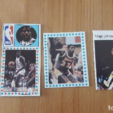 Coleccionismo deportivo: MAGIC JOHNSON LOTE DE CROMOS ANTIGUOS BASKETBALL. Lote 117200011
