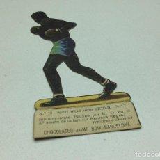 Coleccionismo deportivo: CROMO TROQUELADO - CHOCOLATES JAIME BOIX BOXEO -1929 - BOXING CARD N° 18 HARRY WILLS . Lote 118170319