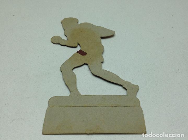 Coleccionismo deportivo: CROMO TROQUELADO - CHOCOLATES JAIME BOIX - BOXEO -1929 - BOXING CARD N° 17 UZCUDUN - Foto 4 - 118171319