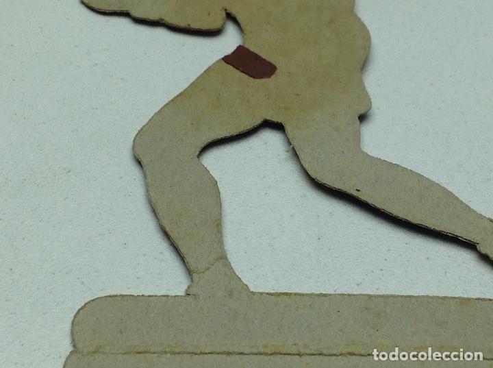 Coleccionismo deportivo: CROMO TROQUELADO - CHOCOLATES JAIME BOIX - BOXEO -1929 - BOXING CARD N° 17 UZCUDUN - Foto 5 - 118171319