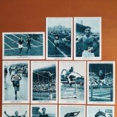 Coleccionismo deportivo: COLECCIÓN CROMOS CAMPEONES Y RECORDMANS ESPAÑA ATLETISMO LECHE CONDENSADA NURIA - 20 DE 21 MANLLEU. Lote 119310943
