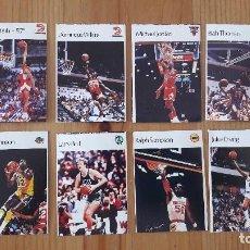 Coleccionismo deportivo: MICHAEL JORDAN 1986 SUPER CANASTA ROOKIE COLECCION A FALTA DE 1 STICKER SIN USO. Lote 120206819