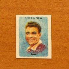 Coleccionismo deportivo: CICLISMO - MIGUEL BOVER - ASES DEL PEDAL - AÑOS 50 - NUNCA PEGADO. Lote 120541651