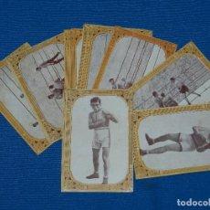 Coleccionismo deportivo: COLECCION COMPLETA - BOXEO , 12 CROMOS CHOCOLATES GUILLEN A GLEIZES , A LEPESANT, AÑOS 20. Lote 122865687