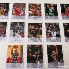 Coleccionismo deportivo: TRADING CARDS UPPER DECK LEGENDS NBA. Lote 122885987