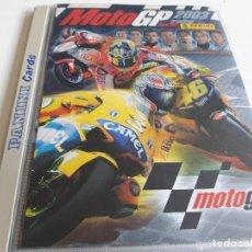 Coleccionismo deportivo: COLECCION COMPLETA DE CARDS MOTO GP 2003 PANINI.PEDROSA,ROSSI,AGOSTINI,ANGEL NIETO... F3. Lote 123078587