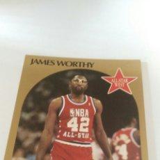 Coleccionismo deportivo: NBA HOOPS 90-91 #26 JAMES WORTHY. Lote 123414940