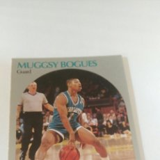 Coleccionismo deportivo: NBA HOOPS 90-91 #50 MUGGSY BOGUES CHATLOTTE HORNETS. Lote 123415887