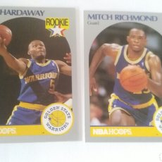 Coleccionismo deportivo: NBA HOOPS 90-91 LOTE 2 CROMOS GOLDEN STATE WARRIORS. Lote 123417034