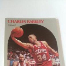 Coleccionismo deportivo: NBA HOOPS 90-91 #225 CHARLES BARKLEY PHILADELPHIA SIXERS. Lote 123418423