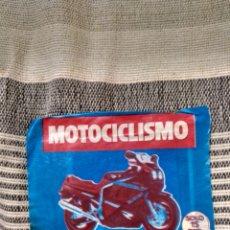 Coleccionismo deportivo: SOBRE MOTOCICLISMO LATERALES ABIERTOS. Lote 124954351