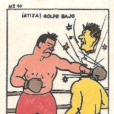 Coleccionismo deportivo: BOXEO - CHOCOLATES MARÍA - JOSÉ ANTONIO NAVARRO - ESPINARDO (MURCIA). Lote 126019411