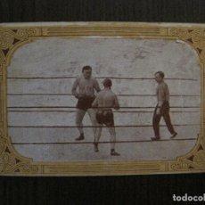 Coleccionismo deportivo: BOXEO-CROMO ANTIGUO CHOCOLATES GUILLEN-NUM 11- FIRPO - MAC AULIFE -VER FOTOS-(V-14.943). Lote 127161131