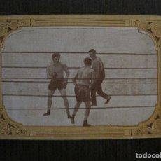 Coleccionismo deportivo: BOXEO-CROMO ANTIGUO CHOCOLATES GUILLEN-NUM 6- FIRPO - MAC AULIFE -VER FOTOS-(V-14.948). Lote 127161463