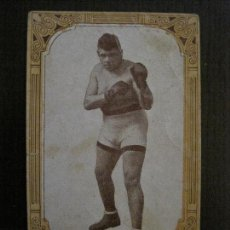 Coleccionismo deportivo: BOXEO-CROMO ANTIGUO CHOCOLATES GUILLEN-NUM 3- JOSE TEIXIDO-VER FOTOS-(V-14.949). Lote 127161507