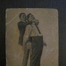 Coleccionismo deportivo: BOXEO-BOXE Y JIU JITSU- NUM. 28- ATAQUE A LA GARGANTA POR DETRAS -VER FOTOS-(V-14.957). Lote 127162043