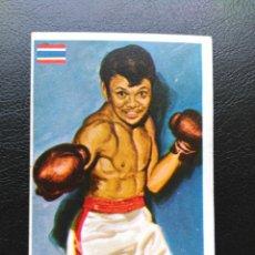 Coleccionismo deportivo: MUANGSURIN, ASES MUNDIALES DEL DEPORTE BOXEO, PEQUEÑO Nº 147. Lote 127164284