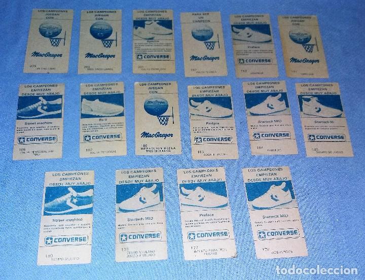 Coleccionismo deportivo: LOTE DE 16 CROMOS DE BALONCESTO CAMPEONATO DE LIGA 86/87 MERCHANTE EN MUY BUEN ESTADO SIN PEGAR - Foto 4 - 127520235