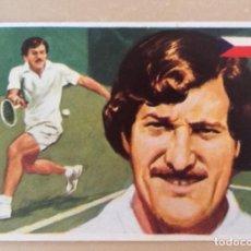 Coleccionismo deportivo: JAN KODES, ASES MUNDIALES DEL DEPORTE, TENIS, GRANDE, Nº 118. Lote 195272971