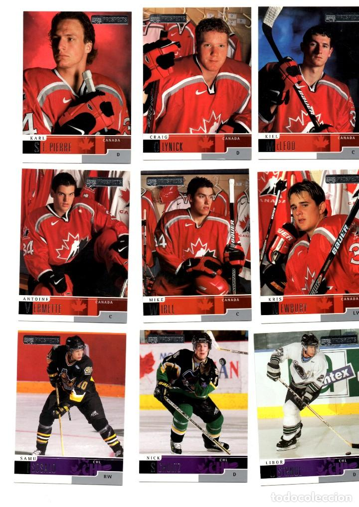 Lote 18 cards Upper Deck Prospects 2000 CHL (canadian hockey league)